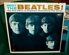 MEET THE BEATLES HOLLYWOOD #6 PRESS  JAN 1964 50 YEARS OLD ORIGINAL EXCE