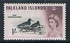 Falkland Is 1960 1/- Black & maroon SG 202 MLH