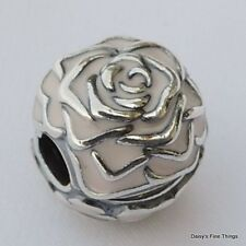 AUTHENTIC PANDORA CHARM ROSE GARDEN CLIP  #791292EN40