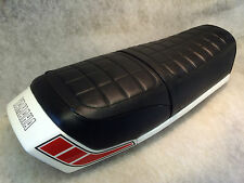 "YAMAHA RD250/400DX -E-F 1976-79 SEAT COVER FREE SEAT STRAP ""TOP QUALITY"""
