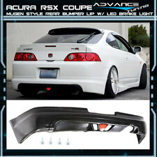 05-06 Acura RSX DC5 Tpye-S 2Dr  Mugen Urethane Rear Bumper Lip Spoiler LED Light