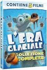 L'ERA GLACIALE - COLLEZIONE COMPLETA (5 DVD) ANIMAZIONE DIGITALE DREAMWORKS