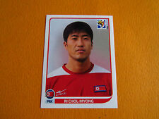 515 CHOL-MYONG COREE NORD DPR PANINI FOOTBALL FIFA WORLD CUP 2010 COUPE MONDE