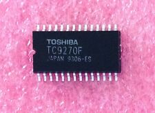 2 Pcs New TC9270F Toshiba 1-Bit DAC with Filter Oversampling NOS SOP 28