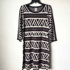 NWT $129 Anne Klein Women's Alpaca Combo Knit Sweater Dress Size Medium