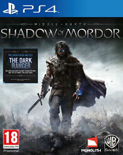 Middle-Earth: Shadow of Mordor (Sony PlayStation 4, 2014)