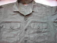 rare ORIGINAL USMC US MARINES MARINE Issue M51 UTILITY SHIRT 0G107 VIETNAM WAR