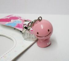 Brand New Japanese Lucky Mascot Sunshine Buddy Nohohon Cell Phone Charm Pink