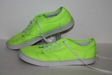 Vans Casual Sneakers, #TB4R, Neon, Women's US Size 7.5