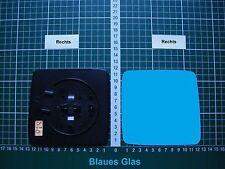 Außenspiegel Spiegelglas Ersatzglas Mercedes W124 Rechts.sph.Kpl.beheizt Blau
