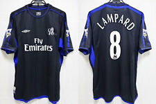 2003-2004 Chelsea FC Jersey Shirt Third Umbro Fly Emirates Lampard #8 XL BNWT