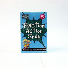 Fraction Action Snap + Pairs Card Game Brainbox Learn Maths Fractions NEW Age 7+