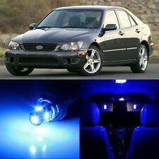 12 x Ultra Blue Interior LED Lights Package For 2001- 2005 Lexus IS300