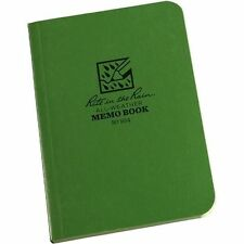 Rite in the Rain 954 All-Weather Universal Field-Flex Pocket Memo Book, Green
