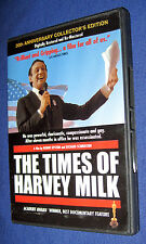 The Times of Harvey Milk 20th Anniversary Collector's Edition (2004) 2-DVD Set!