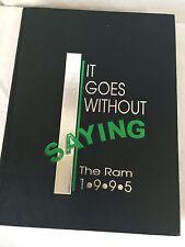 Yearbook 1995 L V Berkner High School Richardson, TX  The Ram, Jensen Ackles