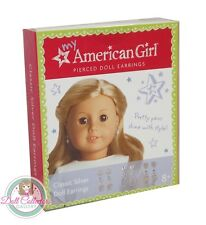 American Girl MY AG CLASSIC SILVER EARRINGS for Dolls Jewelry Accessories NEW