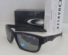 OAKLEY matte black/black iridium POLARIZED JUPITER SQUARED sunglasses NEW IN BOX