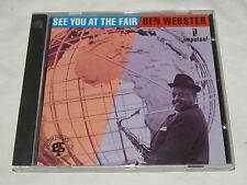 CD - BEN WEBSTER SEE YOU AT THE FAIR