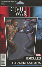 Civil War II Gods Of War #1 John Tyler Christopher Action Figure Cover. NM