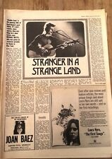 DAVID BOWIE 'stranger ion a strange land' 2 page  UK ARTICLE / clipping 1973