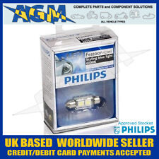 Philips 128596000KX1 C5W 239 / 272 12V Vision LED 6000K Festoon Bulb White/Blue
