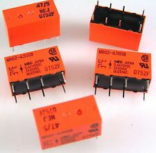 NEC MR62-4.5USB Relay 47/5 DIL Type 4.5VDC Coil DPCO 5 pieces OLA1-08