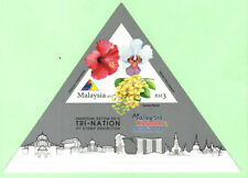 Malaysia 2013 Tri-Nation 3rd Stamp Exhibition ~ MS mint