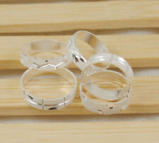 Hot wholesale lots Man's  5PCS  925sterling silver ring size6-9 S003