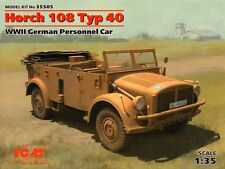 ICM 1/35 Horch 108 Typ 40, WWII German Personnel Car # 35505