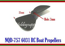 3 PCS of NQD-757 757-6031 RC Boat Propellers for Replacement