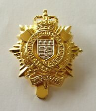 RLC Beret Badge, Metal, Gold, Army, Military, Royal Logistic Corps, Other Ranks