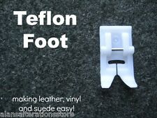 Domestic Sewing Machine Clip on/off Teflon Presser Foot Brother Toyota New Home