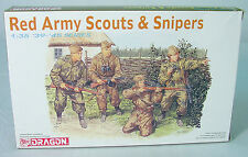 1/35~ Red Army Scouts and Snipers~  39-45 Series~DRAGON Infantry Model