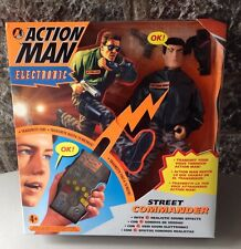 1997# Hasbro Action Man Electronic Street Commander Nib Sealed