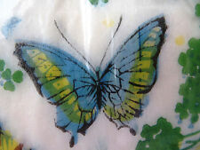 Butterfly Guest Towels Rice Paper Disposable Hand Towels - Package of 24 NOS