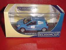 RENAULT CLIO 3 TOLEE EDF EDF.COM 1/43 ELIGOR EN BOITE
