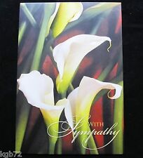 Leanin Tree Sympathy Or Funeral Greeting Card Memorial Flowers Multi Color R78