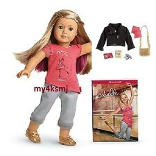 American Girl ISABELLE Doll and BOOK + ACCESSORIES + pink hair extra FAST SHIP
