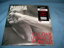 PANTERA VULGAR DISPLAY OF POWER 180 GRAM DOUBLE VINYL GATEFOLD LP SEALED PA