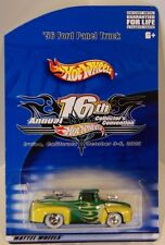 2002 Hot Wheels 16th Convention '56 Ford Panel Truck FINALE/TICKET Only 2000