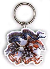 PORTACHIAVI KEYCHAIN American Heritage Eagle da metal Biker Chopper MC