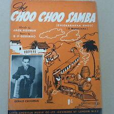 Unanimità Choo Choo Samba (chickaracka Choo) GERALD CROSSMAN 1951