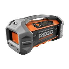 Ridgid Jobsite Radio 18V USB Charging Bluetooth Weather-resistant R84087 !!!