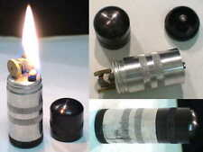 Briquet Ancien - Alu massi type militaire - Wick Lighter Feuerzeug Accendino
