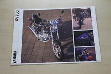 170532) Yamaha XV 750 Virago Prospekt 01/1992