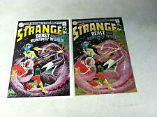 STRANGE ADVENTURES #220 hand colored cover art and approval cover ADAM STRANGE