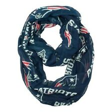 New England Patriots Sheer Infinity Neck Scarf NEW NFL - Blue