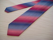 KOLTE Italy Blues/Pinks 100% Silk Neck Tie from Syd Jerome