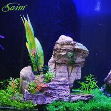 New Landscape Decor Underwater Aquarium Fish Tank Ornament Resin Rockery Stone